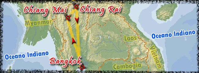 Tour Triangolo D Oro Tailandia